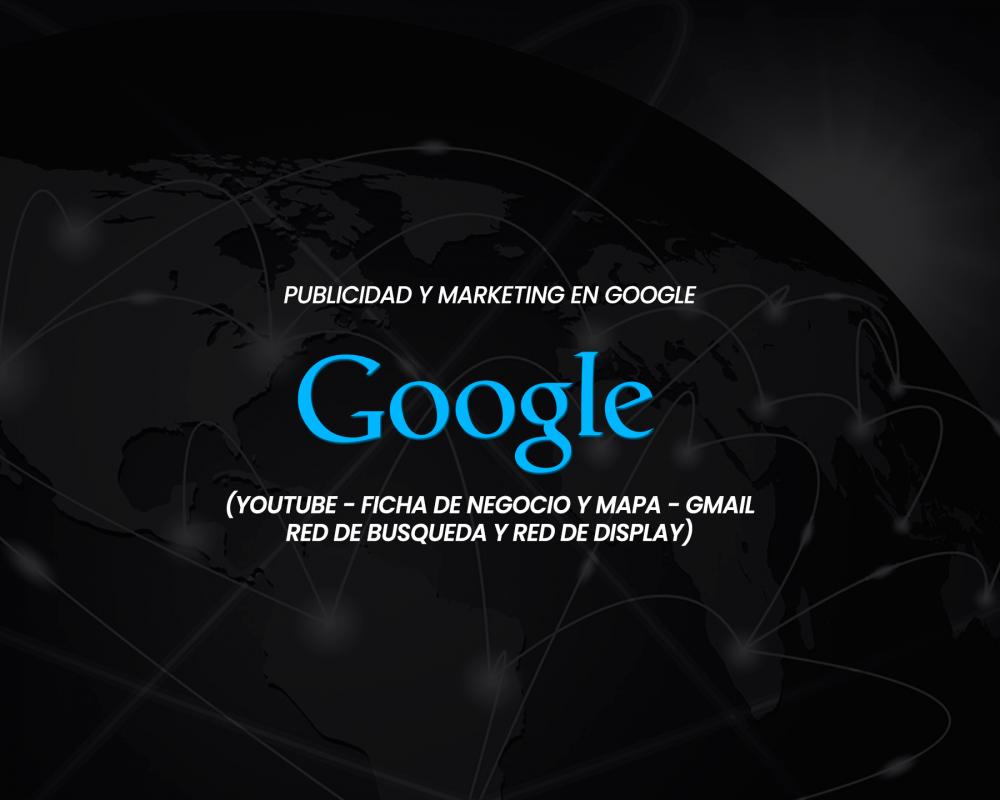 Publicidad y marketing en Motores de Búsqueda Google